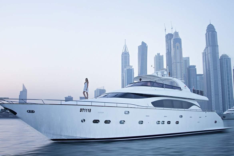 Location de yacht à Dubaï