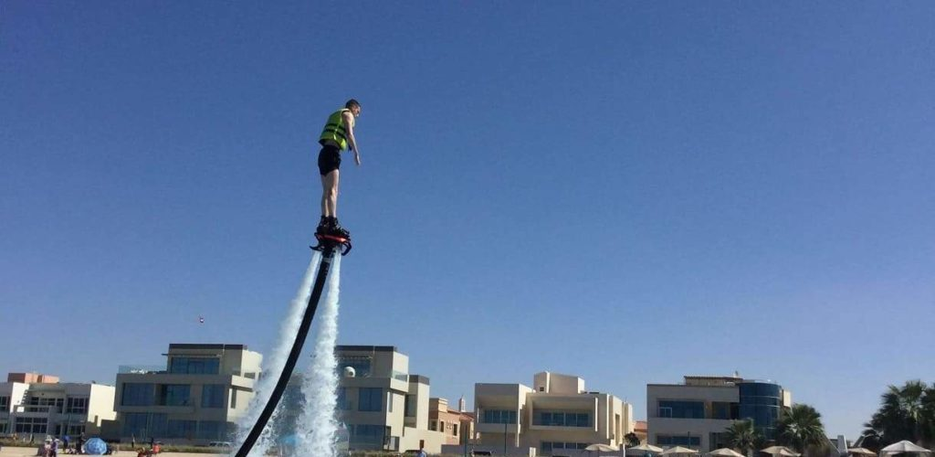 What do you need to know if you want to try flyboard in Dubai